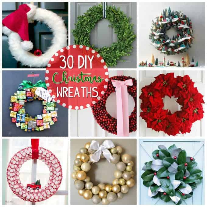 Christmas Wreaths 30 DIY Christmas wreath ideas you can make - christmas wreath decorations