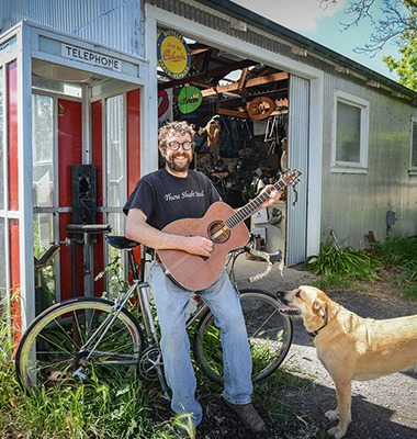 """From bicycles to """"pedal steel"""" guitars: One maker's quirky frontiers"""