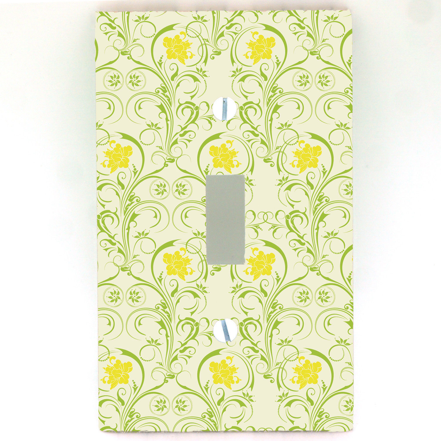 Art Nouveau Yellow Art Nouveau Yellow Irises Light Switch Outlet Cover All Styles D0078