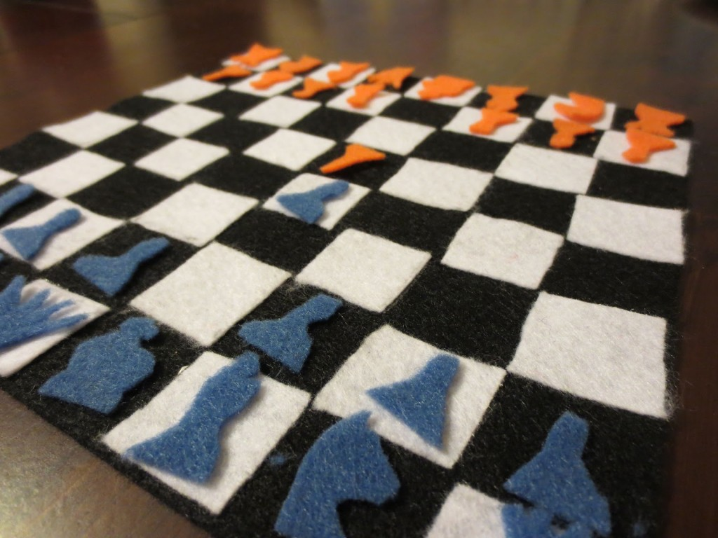 Diy Wood Chess Board Diy Chess Board For Kids Crafts To Do With Kids