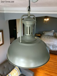 Upcycling to Make an Adjustable DIY Pulley Light Fixture ...