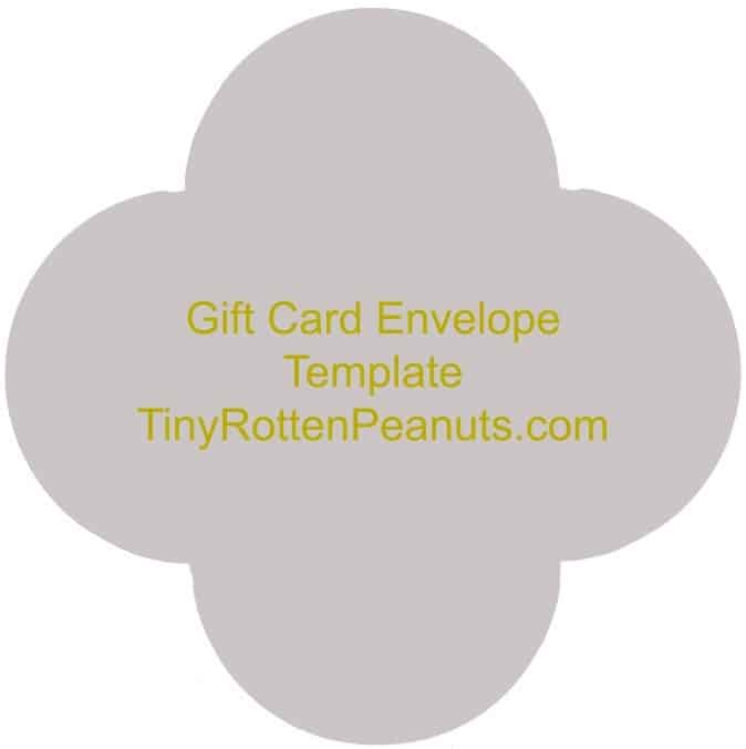 Make a Little Gift Card Holder Right Now! \u2022 Craftwhack - Gift Card Envelope Template