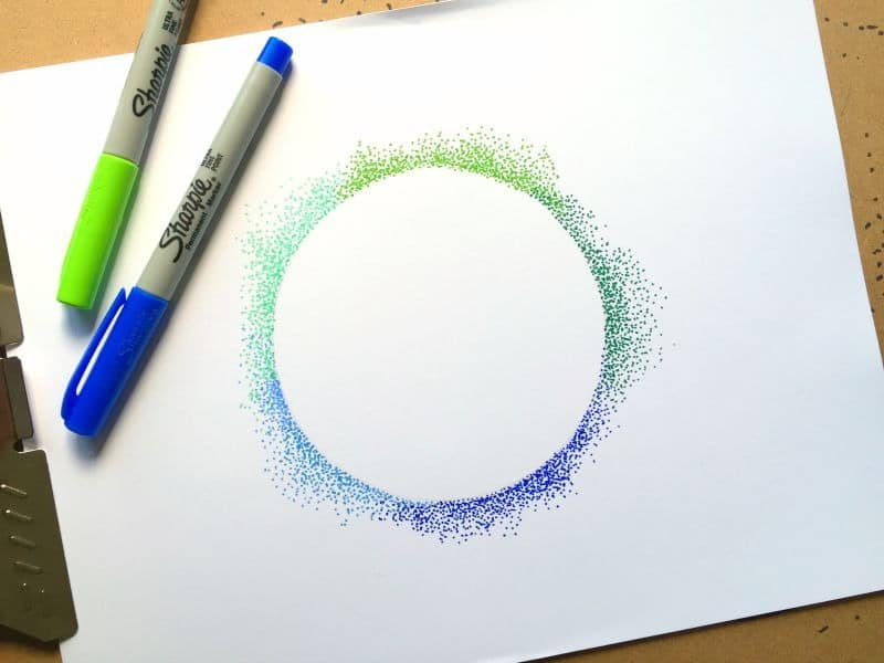 Art Technique Pointillism O Craftwhack