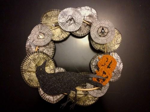 Halloween Wreaths Crafts Halloween Crafts Easy Halloween
