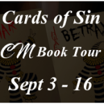 Cards of Sin by K.J Dahlen #booktour #review