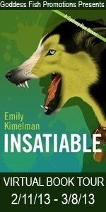 Insatiable by Emily Kimelman #bookreview