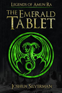Legends of Amun Ra: The Emerald Tablet by Joshua Silverman #bookreviews #booktour