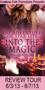 Into The Magic by Naomi Bellina #booktour #bookreview