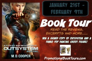 Outsystem by Michael A Cooper #bookBlast #giveaway