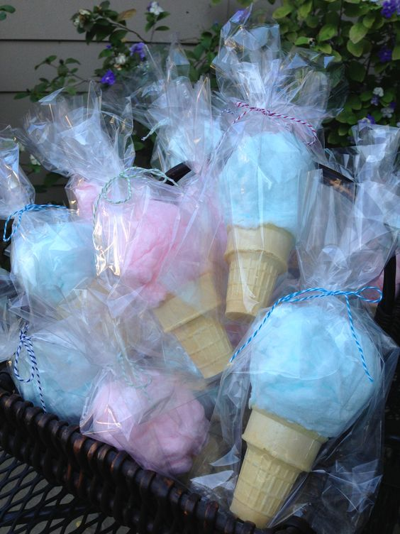 Baby Bags On Sale Cotton Candy Cones Party Favors Crafty Morning