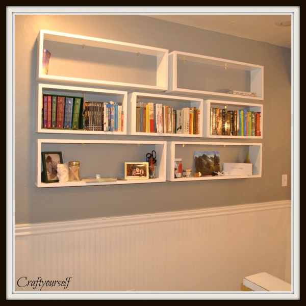 Book Shelfs Floating Bookshelves - Craft