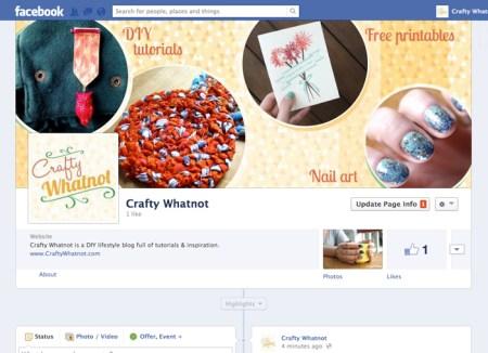 Crafty Whatnot Facebook