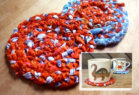 braided coasters