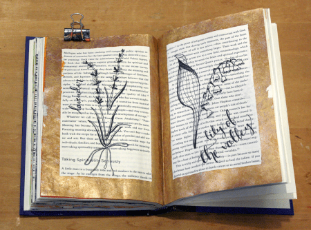altered book | craftywhatnot.com