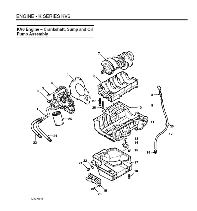 2004 land rover lander engine