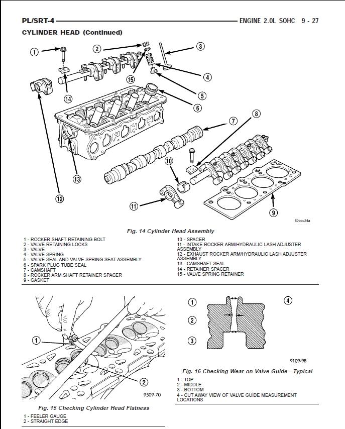 dodge engine diagrams repair manual