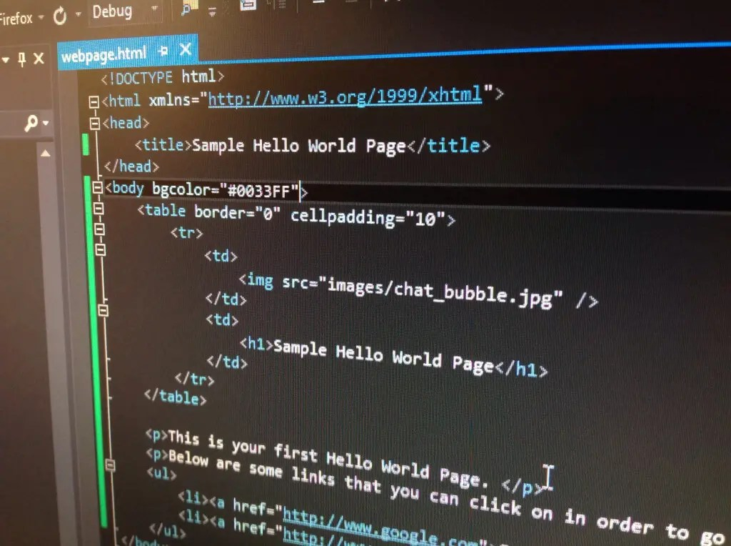 How to Make Your First Basic Webpage Using HTML - Crambler