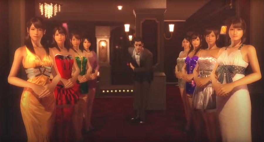 Sleeping Girl Wallpaper Yakuza 0 Legends Trailer Cramgaming Com