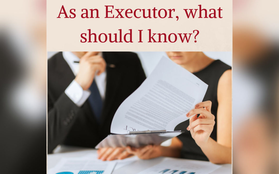 What do successor trustees and executors do?