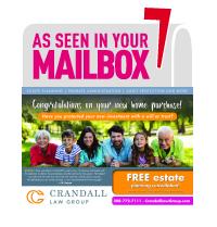 Crandall Law Group Estate Planning Promotion Sent via Post Card Mania