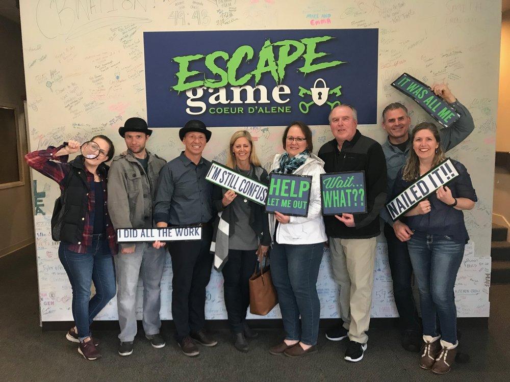 ESCAPE GAME RYAN CRANDALL | Crandall Law Group | Hayden, Idaho