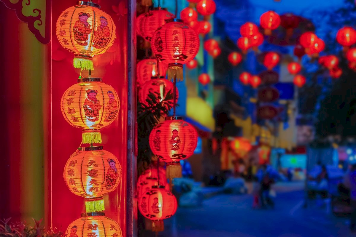 Paper Lanterns Melbourne Chinese New Year Crane Worldwide Logistics