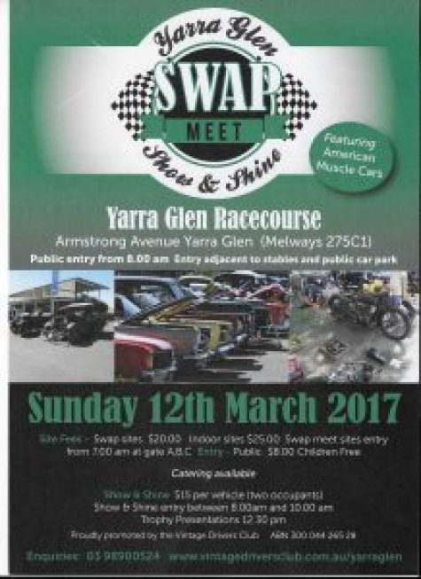 Yarra Glen Swap Meet