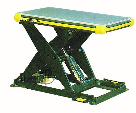 Industrial Hydraulically or Pneumatically Powered Lift Table