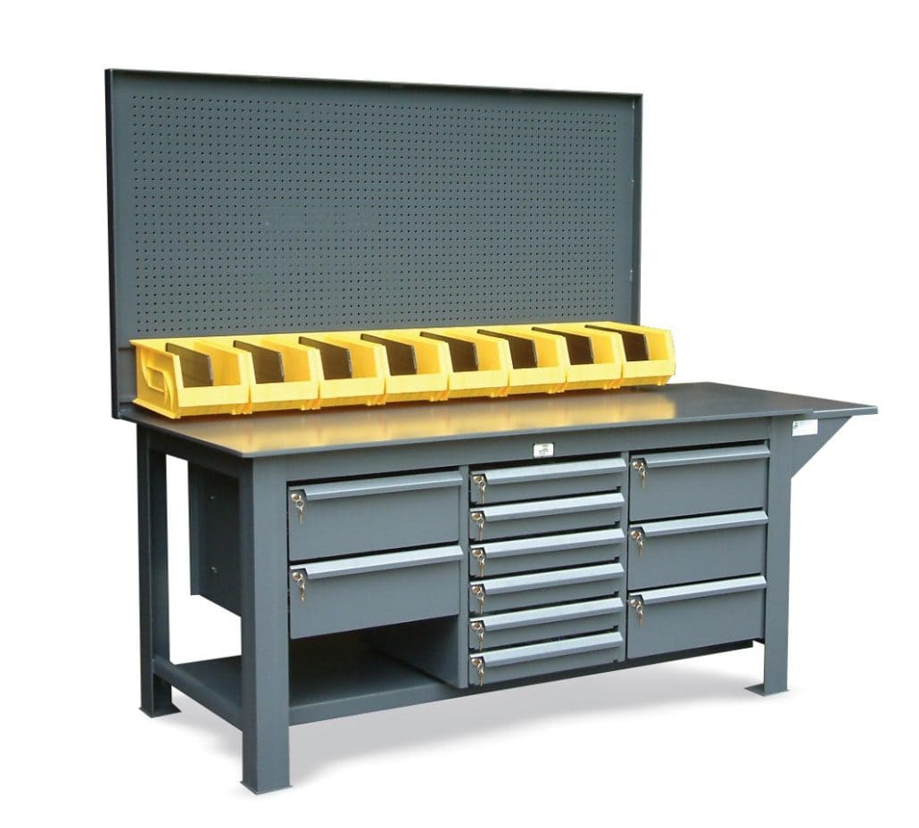 Maximum Heavy Duty Workbench Industrial Heavy Duty Workbenches Cranston Material Handling