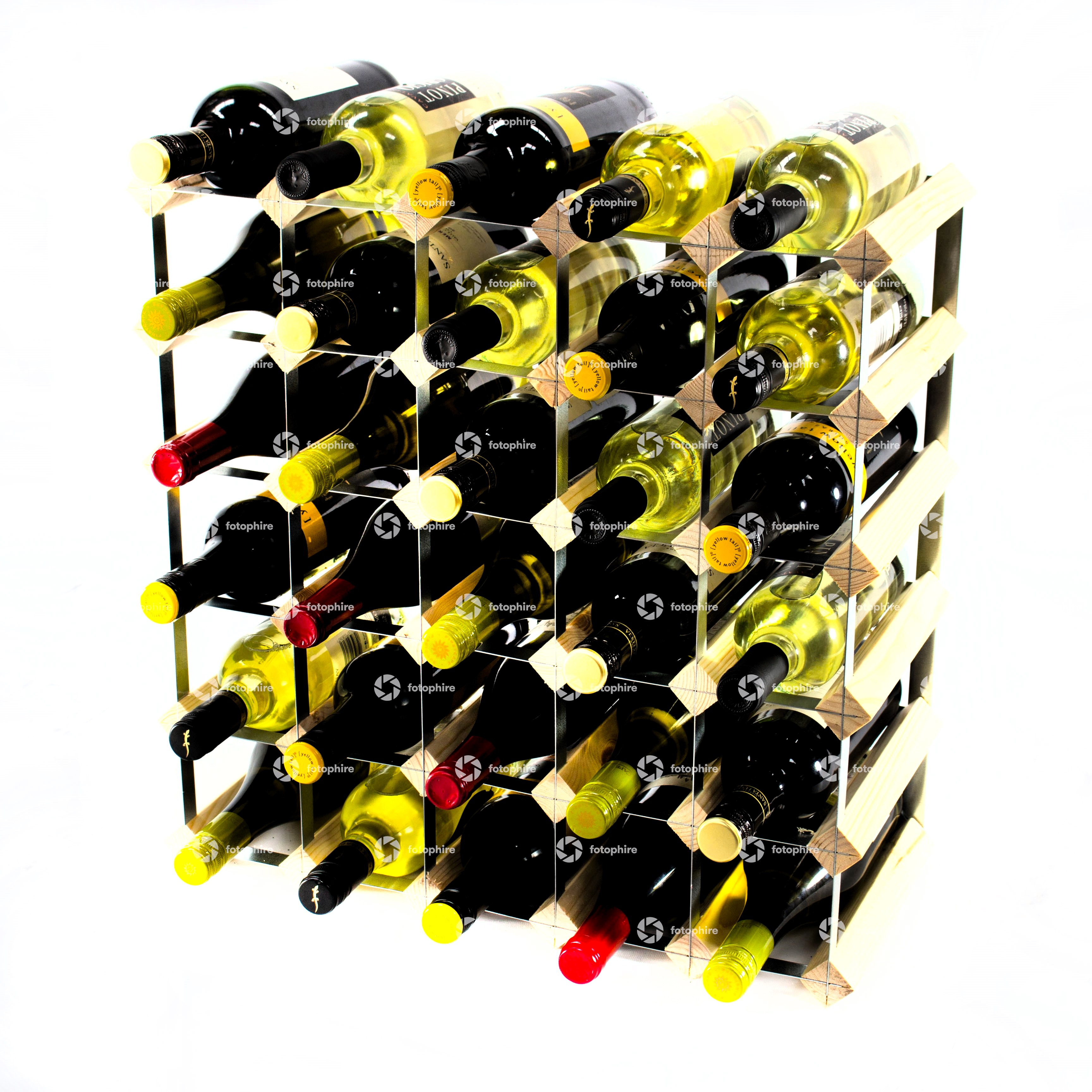 Other Uses For Wine Racks Classic 30 Bottle Wine Rack Self Assembly Cranville