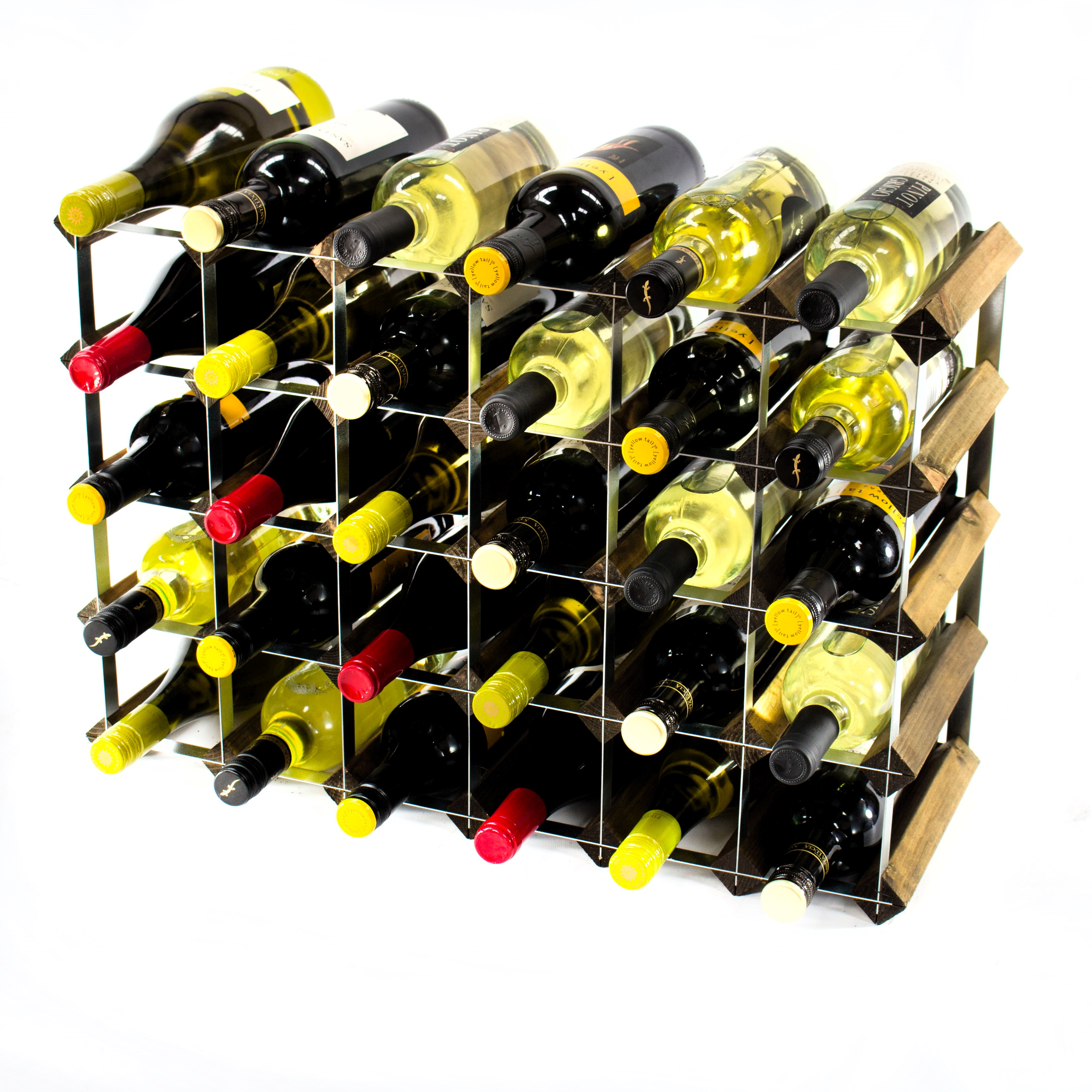Other Uses For Wine Racks 30 6x4 Bottle Wine Rack Ready Assembled Cranville