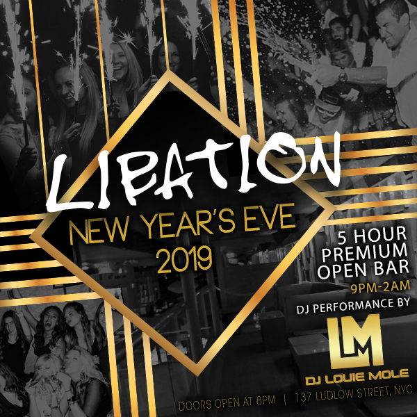 Libation New Years Events