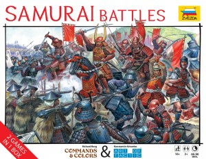 Cover for Samurai Battles from Zvezda from Richard Borg and Konstantin Krivenko