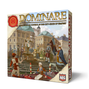 AEG Dominare Boardgame Artwork