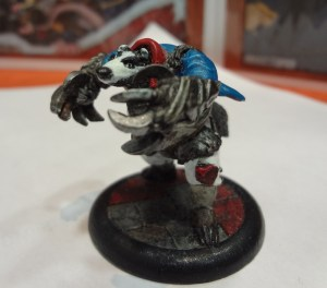 Badger At-Claw for Brushfire from On the Lamb Games.
