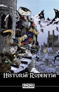 Cover art for Historia Rodentia by Mongoose Publishing and On the Lamb Games.