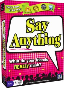 Say Anything from North Star Games box art.