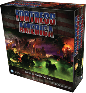 Box art for Fortress America by Fantasy Flight Games