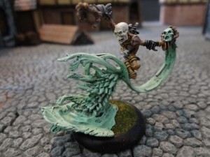 Skarlock Thrall miniature for Warmachine's Cryx faction