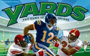 Cover image of football board game Yards