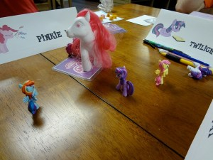 My Little Pony action figures square off at Vegas Games Day