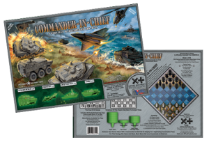 Cover for board game Commander-in-Chief