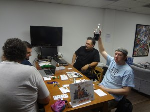 Gamers play Savage Worlds Caveman adventure at Vegas Game Day