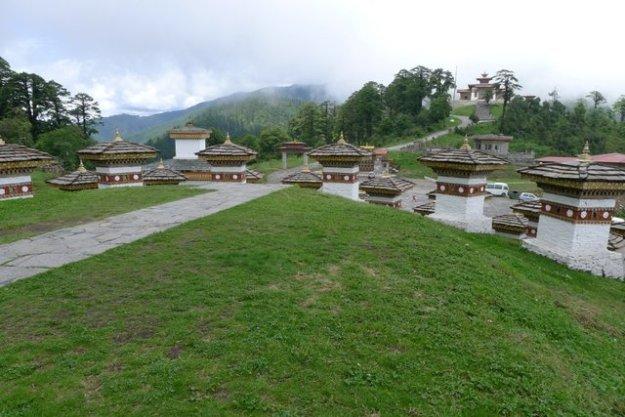 Dochula Pass in Thimphu
