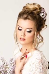 Wedding Hairstyles For Medium Length Hair - Crayon