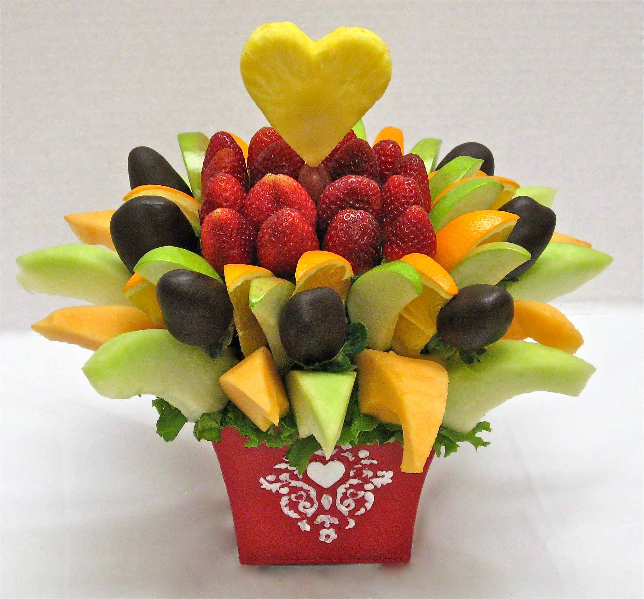 Fruit Baskets Make Your Own Edible Fruit Basket Crazeedaisee