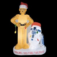 Star Wars Inflatable Christmas Lawn Decorations -Craziest ...