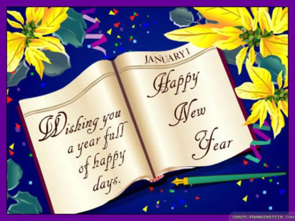 Wallpaper New Year card wallpapers. 1024 x 768.Handmade Greeting Cards Happy New Year