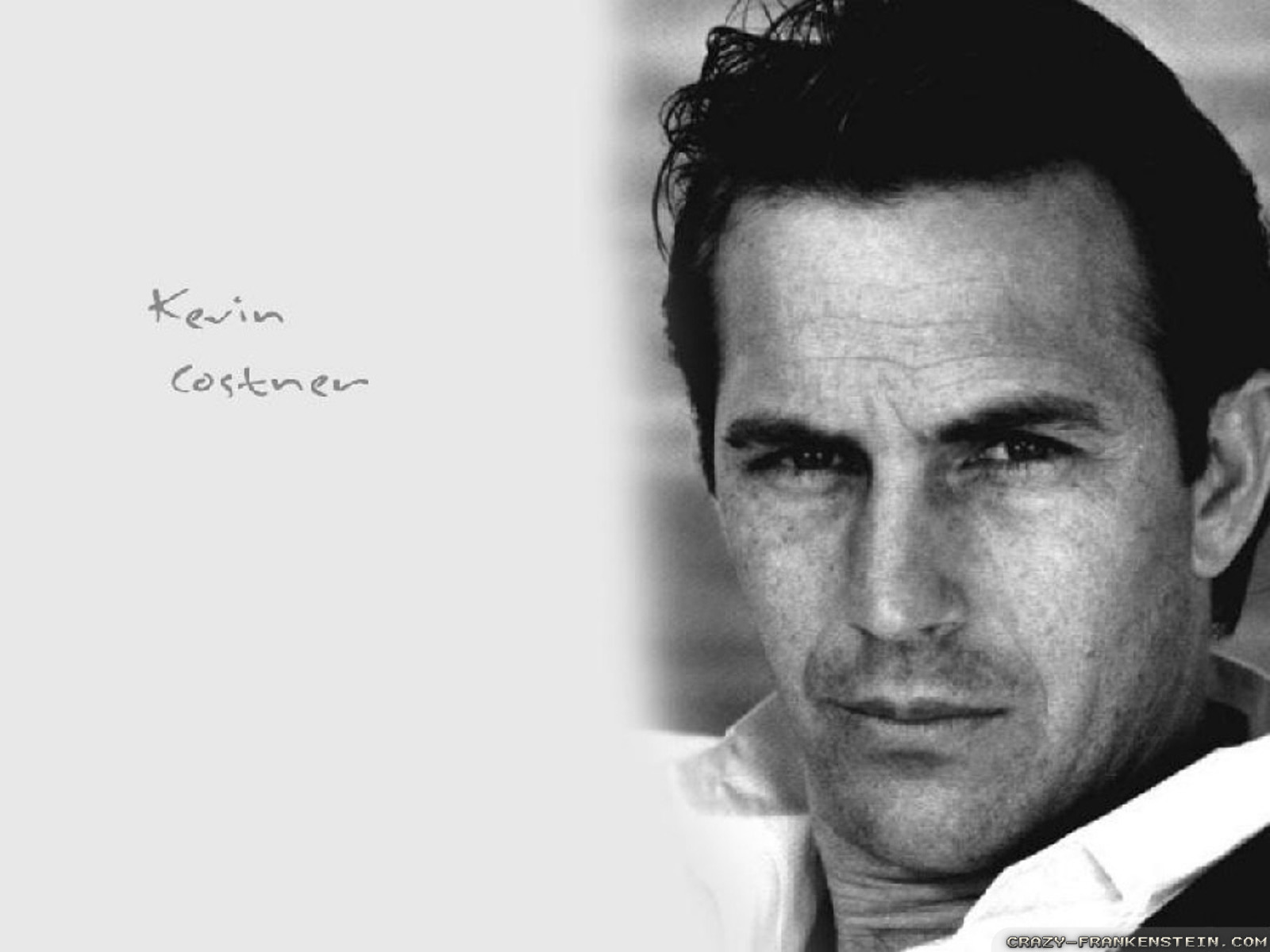 Wallpaper White Black Kevin Costner Wallpapers Free Wallpapers Amp Background