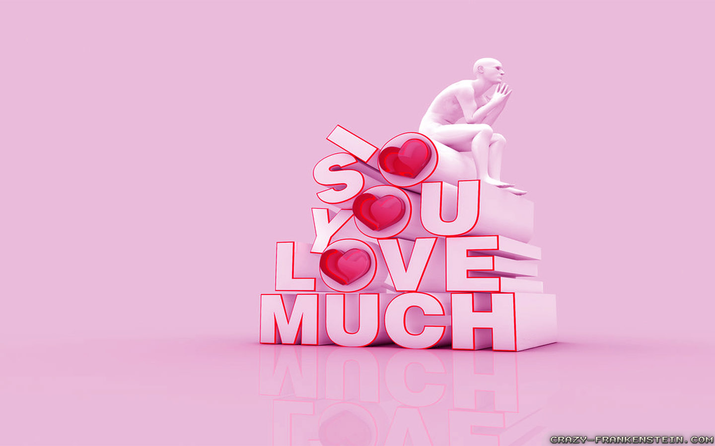 Sweet Cute Couple Hd Wallpaper Love You So Much Wallpapers Crazy Frankenstein